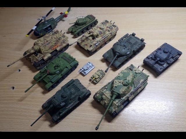 Мои модели танков 2014 2015 г г