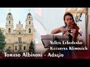 Adagio Tomaso Albinoni Adagio in G minor Violin Organ best live version HD 1080p