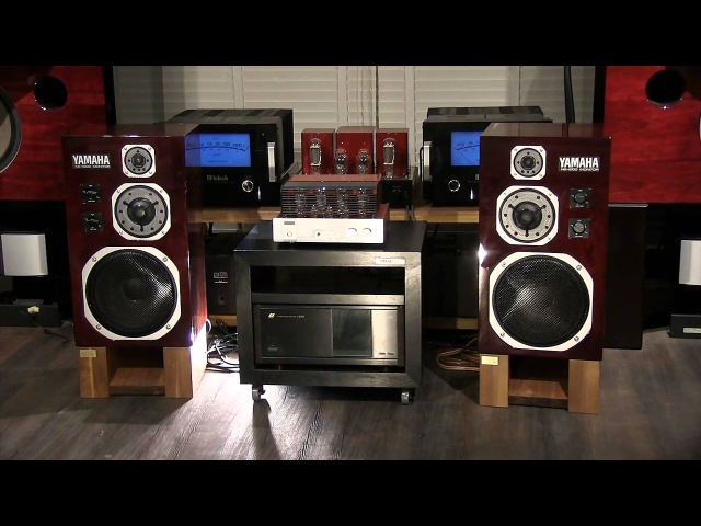 YAMAHA NS-1000M in Rosewood color special refurbished by KENRICK SOUND