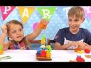 Играем в игру Попугай на Плоту Прикольные игры  для  детей от Алет Алет