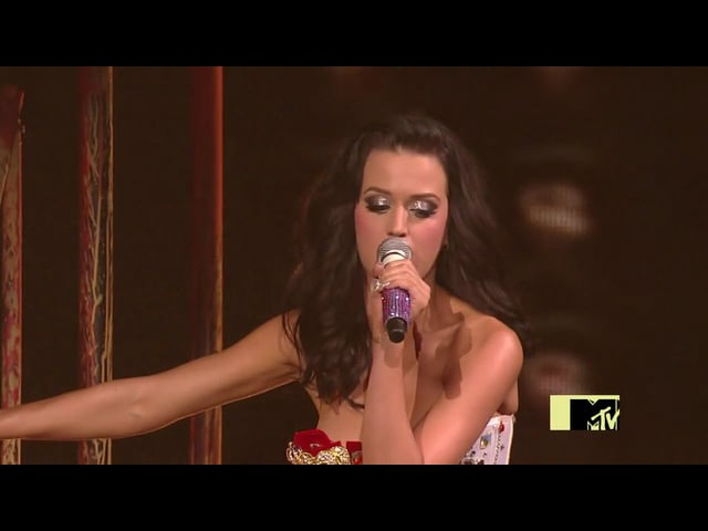 Katy Perry Joe Perry We Will Rock You (MTV Video Music Awards 2009)