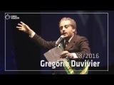 Gregório Duvivier encena A Farsa - Movimento Canta a Democracia
