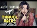 Airport Airplane TRAVEL HACKS