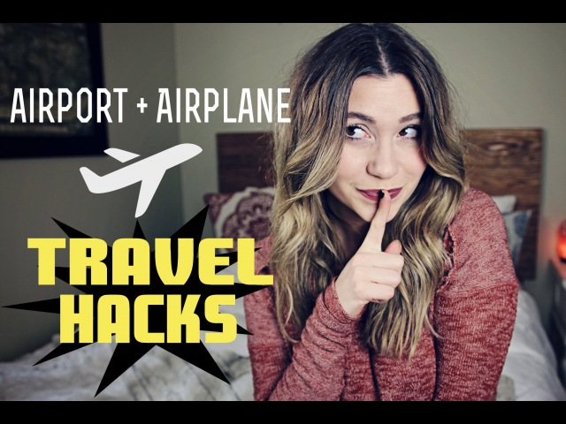 Airport Airplane TRAVEL HACKS