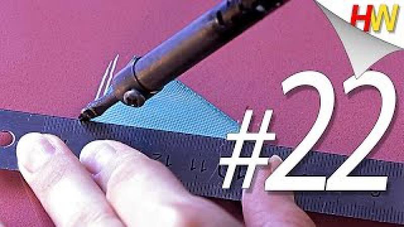 Канзаши для начинающих. Лепестки с помощью паяльника .Обучение.Урок № 22./Кanzashi tuto » Freewka.com - Смотреть онлайн в хорощем качестве