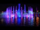 Поющие фонтаны в Варшаве.