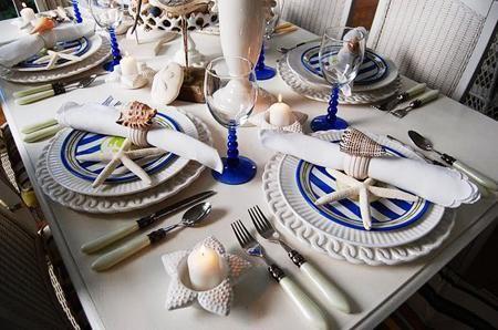 Оформление свадебного зала морская тема