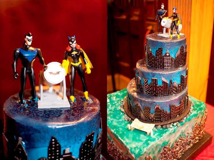 Оформление свадебного зала супергерои