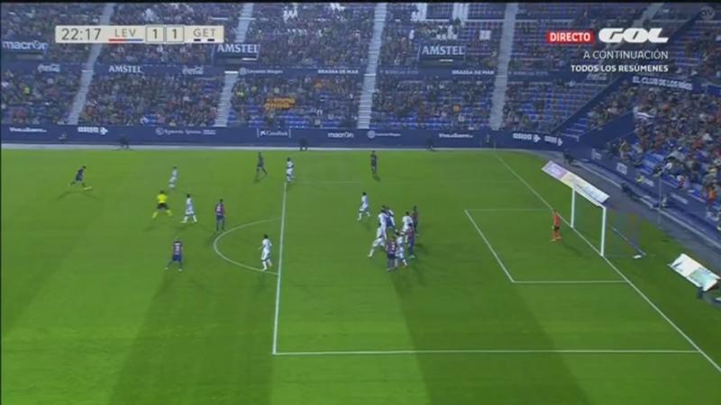 Леванте - Хетафе, 1-1, гол Начо Инса