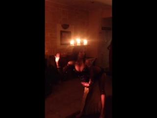 Алия Востокшоу - танец со свечами