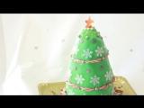 Ну, оОчень вкусный - Новогодний Торт Елка!