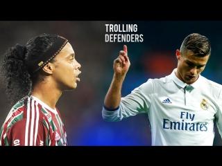 Роналдиньо и Роналду | Издеваясь над защитниками
