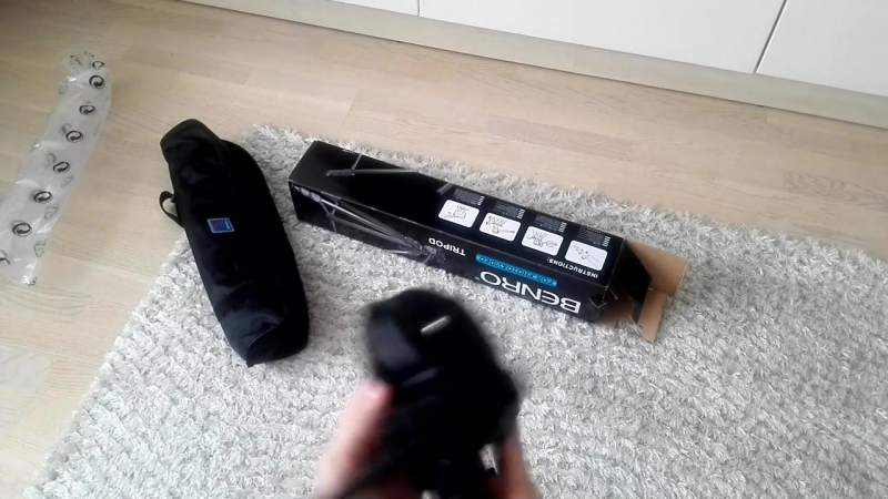 Прокачиваем блог Штатив Benro T 880EX Black