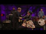 La Santa Cecilica : I Wont Cry For You (Conan OBrien Show) 2015@