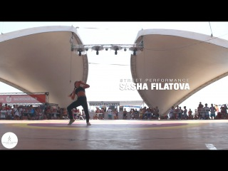 Feel the Beat Z-Games Street Performance Sasha Filatova | VELVET YOUNG DANCE CENTRE