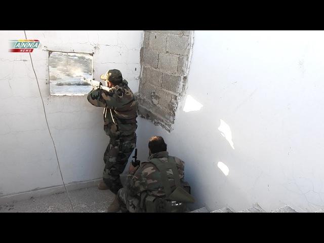Разгром боевиков в Восточном Алеппо / The defeat of the terrorists in Eastern Aleppo