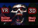 Roller Coaster VR 3D VIDEO   POV Ride Horror Scary Jumpscare   Cardboard VR Video 3D SBS HD 1080p