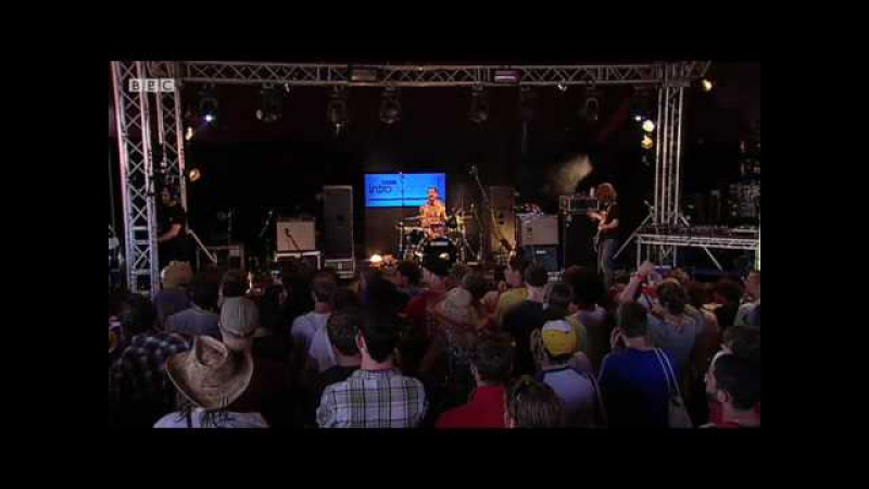 Pulled Apart By Horses - High Five, Swan Dive, Nose Dive (BBC Introducing stage at Glastonbury 2010)