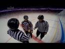 Прикольное видео для любителей хоккея, камера на шлеме. Никакой цензуры и музыки только живые реплики, комментарии арбитра и возражения игроков