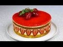Клубничный торт Фрезье ✧ Fraisier Torte / Fraisier Cake (English Subtitles)