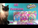 Shopkins 12 Packs Opening Season 1 2 3 4 5 Toy Review | PSToyReviews