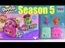 Shopkins Season 5 Mega 20 Pack #2 Unboxing Toy Review PSToyReviews