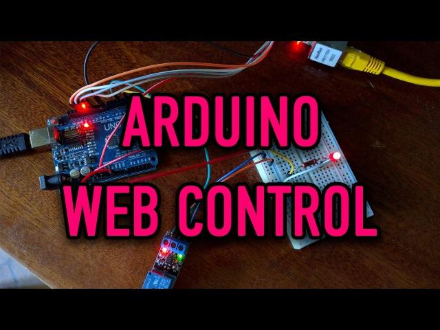 Arduino Web Control | Yii2 WebSocket(Ratchet) aREST ENC28J60 mini