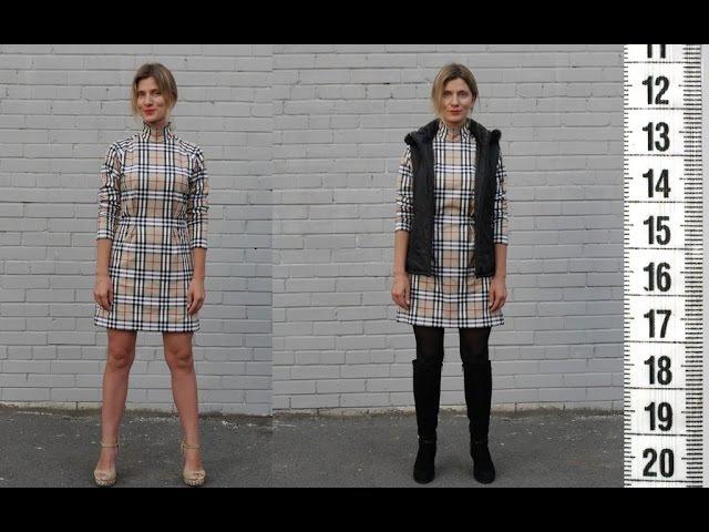 Я ШЬЮ: Платье-реглан со стойкой