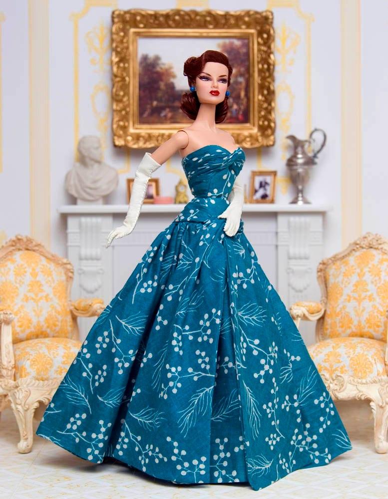 Платье на куклу своими руками фото