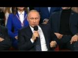 Путин рассказал о любимых фильмах