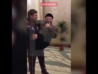 Кадыров и Галустян: