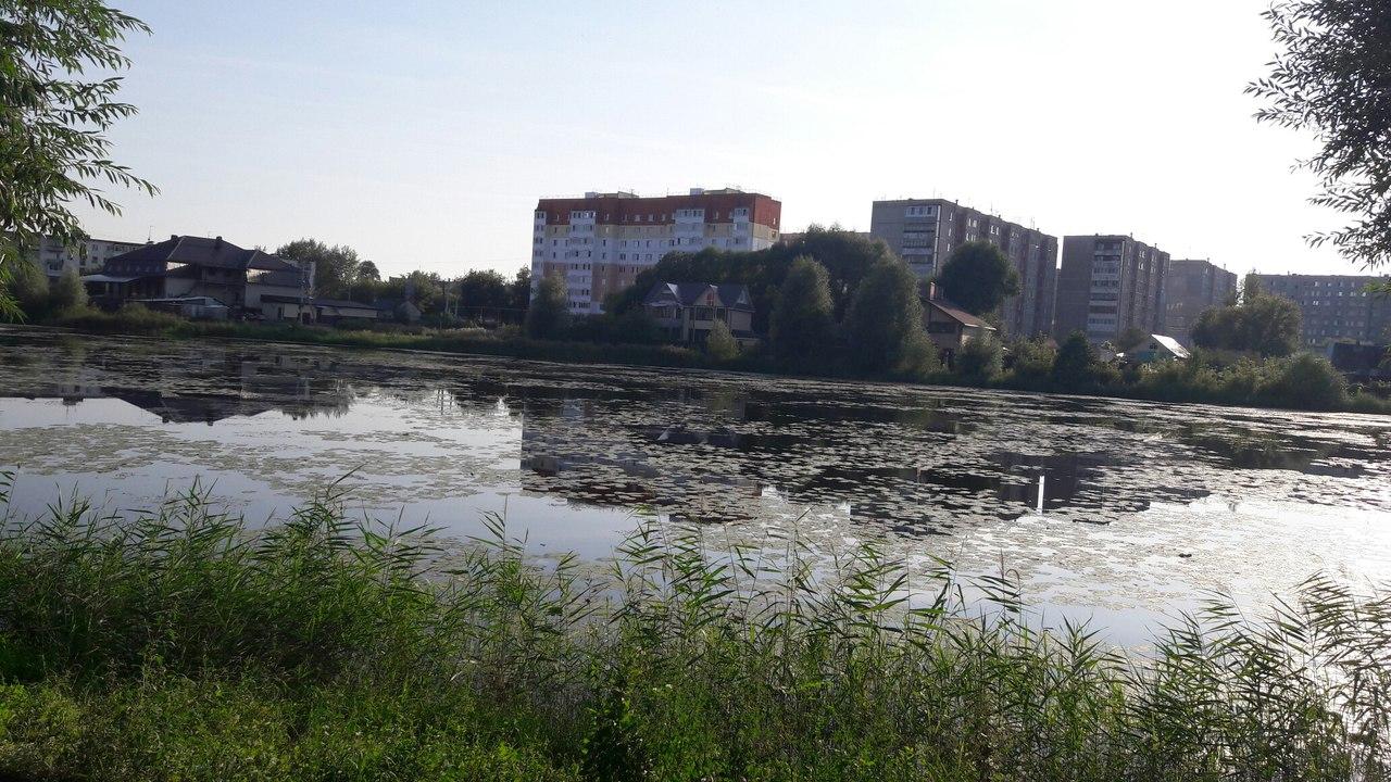 Набережная Верхний пруд