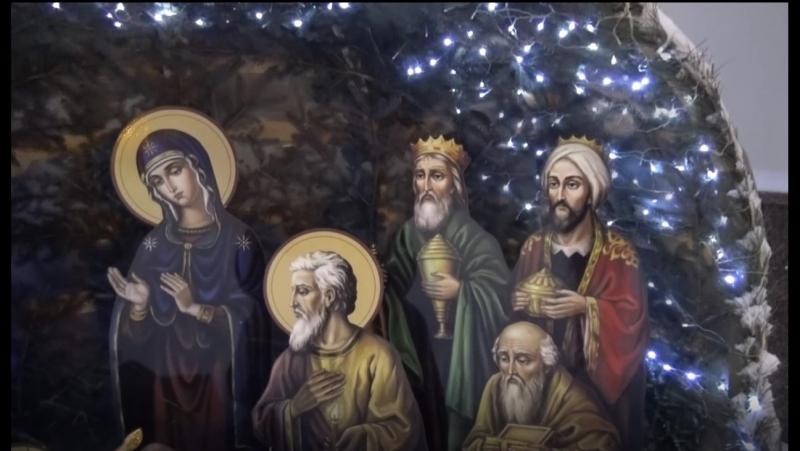 Привітання протоієрея Євгенія Назаренка з Різдвом Христовим
