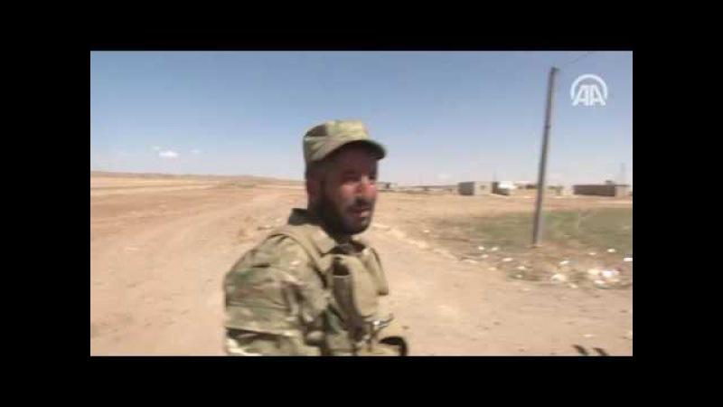 Azez Cerablus hattı birleşti, DAEŞ'in sınırla teması kesildi