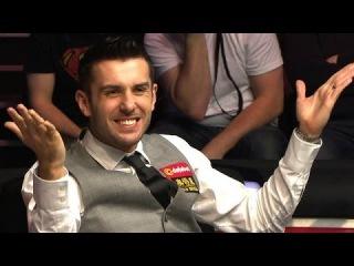 Biggest fluke of the World Snooker Championship finals! Mark Selby vs. Ronnie O'sullivan