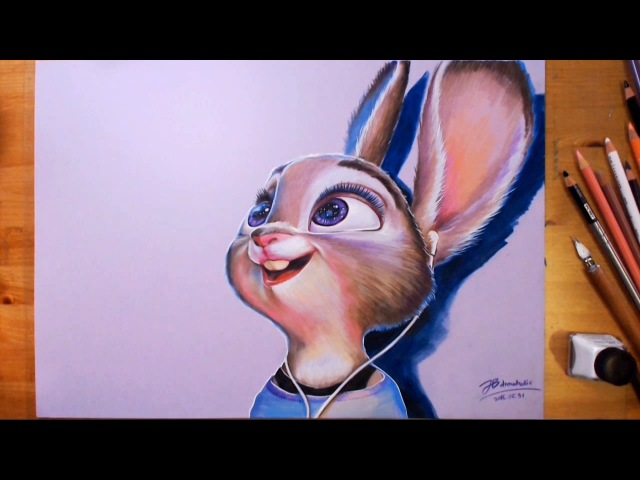 Zootopia, Judy Hopps - Speed drawing | drawholic