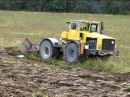 K-700 Odessa ader künd / Ploughing with K-700 and Odessa`s plow