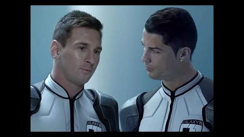 GALAXY11 - The Full Match - Lionel Messi ft C.Ronaldo vs Ailens Team (Part 1,2,3) HD