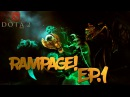 Dota 2 RAMPAGE [Tusk Meepo Puck] 1