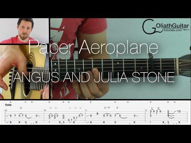 Paper Aeroplanes (Lesson) - Angus And Julia Stone