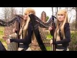 ZOMBIE (The Cranberries) Harp Twins - Camille and Kennerly HARP ROCK
