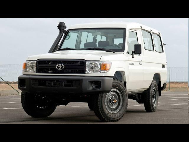 Toyota Land Cruiser Hardtop 78 4 2 Diesel 6 seater LHD