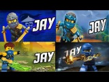 LEGO ninjago JAY + Cole, Zane, Kai, Nya, Lloyd, Sensei, Garmadon, new season series and part Лего ни