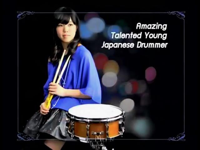 Senri Kawaguchi on drums (HD720p)