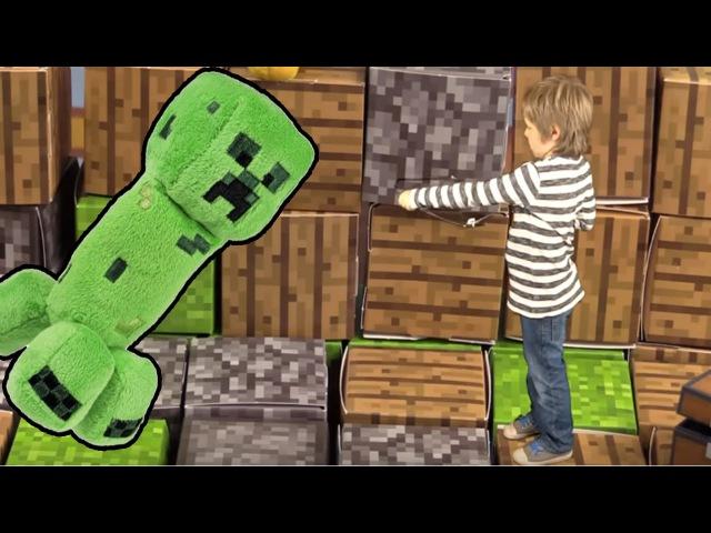 Minecraft bilgisayaroyunları. Gerçek hayatta kalma. Türkçeizle! Erkek çocuk videoları