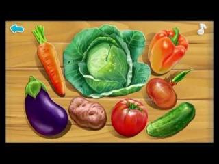Мультик Про Овощи, Игра, Загадки, Пазлы. #мультик, #загадки, #детский канал