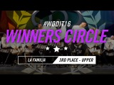 LA FAMILIA  WINNERS CIRCLE  World of Dance Italy Qualifier 2016  #WODIT16