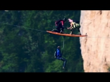 Flying frenchies surf the line - Red Bull Adventure
