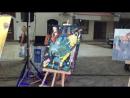 Рисунки детей из художественных школ Косово