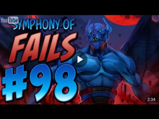 Dota 2 Watafak | Dota 2 WTF Symphony of Fails - Ep. 98